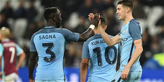 City goleó 0-5 al West Ham y clasficó a la cuarta ronda de la FA Cup