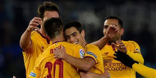 Sevilla, de Sampaoli, visitó a la Real Sociedad y lo goleó 0-4