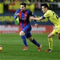 Barcelona, con un golazo de Messi, empató 1-1 contra el Villarreal