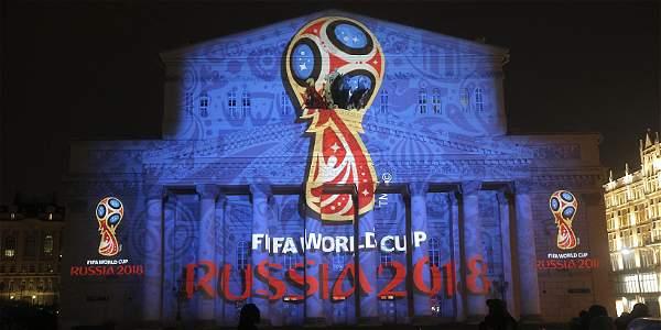 Este es el emblema oficial del Mundial de Fútbol de la Fifa Rusia 2018 que fue presentado en octubre de 2014 en el Teatro Bolshoi de Moscú.