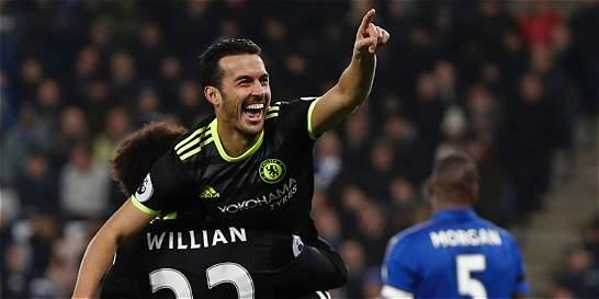 Chelsea derrotó 0-3 al Leicester y sigue de líder en Inglaterra