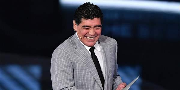 Diego Maradona encendió pasiones en su regreso a Nápoli