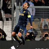 Falcao anotó un gol en la victoria de Mónaco 1-4 contra el Marsella