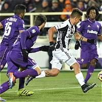 Juventus perdió 1-2 contra Fiorentina y la Roma se le acercó
