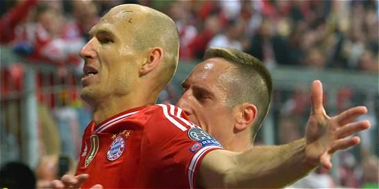 Arjen Robben renueva con el Bayern Múnich hasta 2018