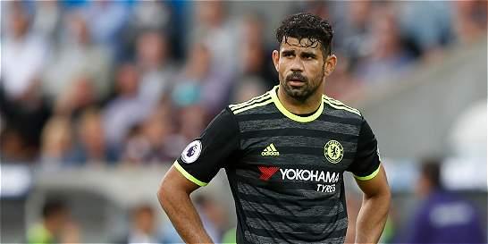 Costa entrenó en solitario en medio de especulaciones sobre su futuro