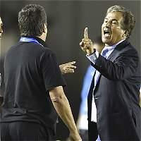Fuerte incidente entre Jorge L. Pinto y 'Bolillo' Gómez en Copa Uncaf
