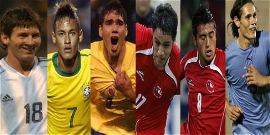 Seis 'cracks' de los últimos seis Suramericanos Sub-20