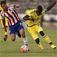 Colombia empató 1-1 con Paraguay en el Suramericano Sub-20