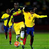 Colombia sub 20 no sostuvo la ventaja y perdió 4-3 contra Ecuador
