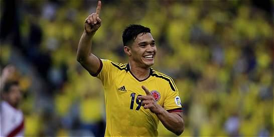 Teófilo Gutiérrez, convocado para el amistoso Brasil vs. Colombia