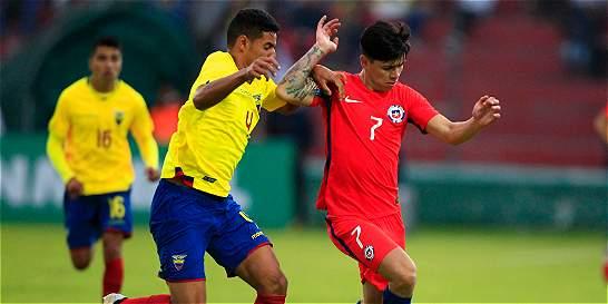 Ecuador y Chile se repartieron los puntos en el Suramericano