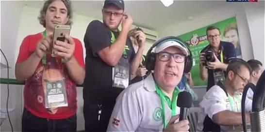 El emocionante relato del primer partido del Chapecoense