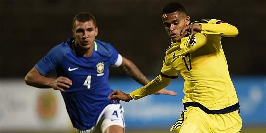 Brasil y Colombia empatan en el primer tiempo del Suramericano Sub-20
