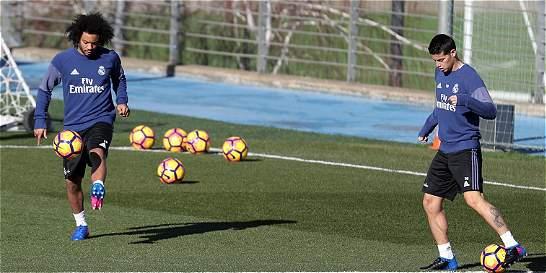 'James está mucho mejor, no le duele nada': Zidane