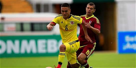 Colombia salvó un punto sobre el final contra Venezuela