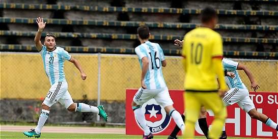 Ni la suerte, ni el juez: Colombia perdió bien contra Argentina