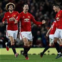 El United goleó al Leicester 0-3 y lo dejo cerca del descenso