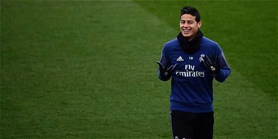 Con el posible regreso de James, Real Madrid enfrenta a Osasuna