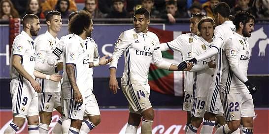 James, titular con el Real Madrid frente al Nápoles por la Champions