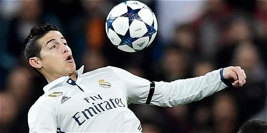 'Quiero seguir muchos años más en el Real Madrid': James