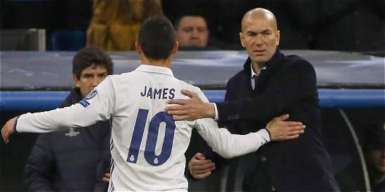 Con el regreso de la 'BBC', James Rodríguez volvería a ser suplente
