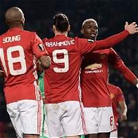 United y la Roma tomaron ventaja en dieciseisavos de la Liga de Europa