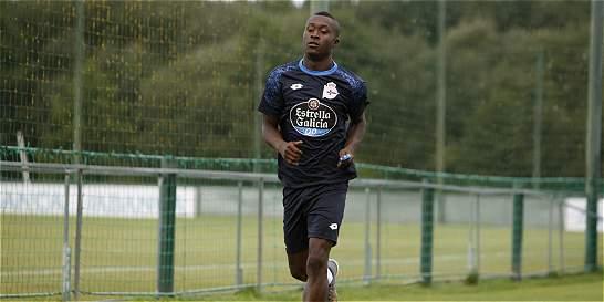 Marlos sufrió una lesión en el último entrenamiento del Deportivo