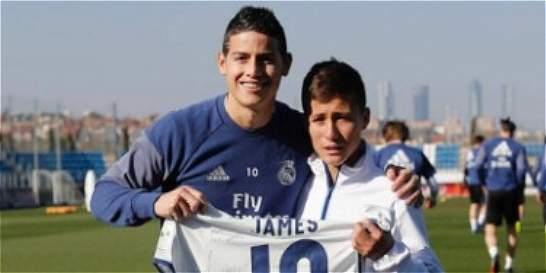 'El niño ángel del Chapecoense' y su encuentro con el Real Madrid