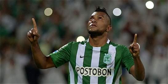 Miguel Borja recibirá en Uruguay el trofeo del 'Rey de América'