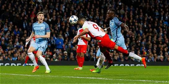 Falcao, en el 11 ideal de la ida en los octavos de Champions League