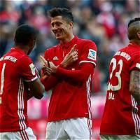Bayern Múnich trituró a Hamburgo en la Bundesliga: 8-0 lo venció