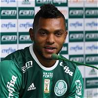 Borja debutó con gol en el triunfo de Palmeiras 4-1 sobre Ferroviaria