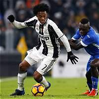 Juventus, con Cuadrado, derrotó 2-0 al Empoli en la Serie A