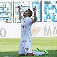 Con gol de Carlos Bacca, Milán derrotó 0-1 a Sassuolo