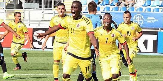 Colombia venció 3-1 a Uruguay y clasificó al hexagonal del Sub 17