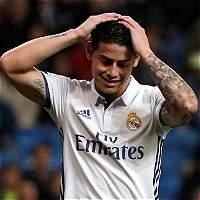 James Rodríguez será suplente en el Real Madrid vs. Las Palmas