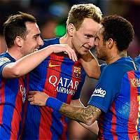 Barcelona no se apiadó de Sporting: lo goleó 6-1 en la Liga
