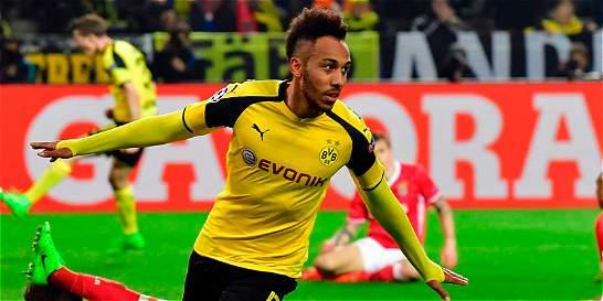 Borussia Dortmund le remontó al Benfica y sigue en Liga de Campeones