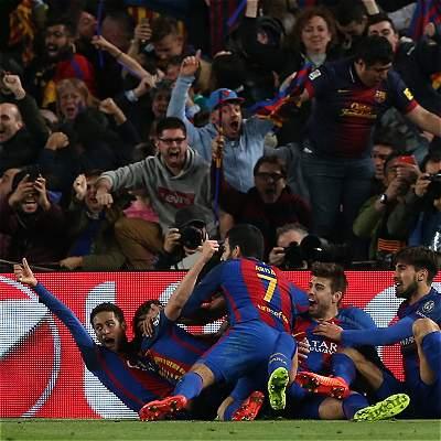 Uefa abrió expediente al Barcelona por invasión de la hinchada