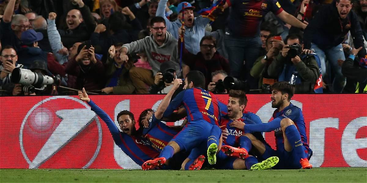 Los aficionados que asistieron al estadio del Barcelona jamás podrán olvidar la épica noche de su equipo.