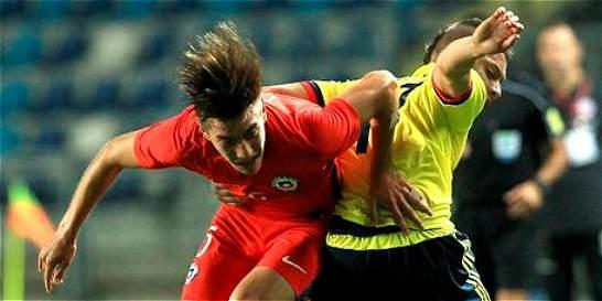 Colombia perdió 1-0 contra Chile en el Suramericano sub 17