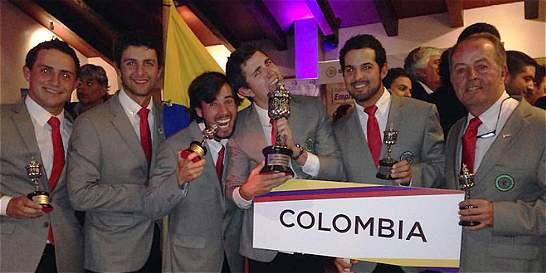 Colombia ganó en Ecuador el Suramericano de golf