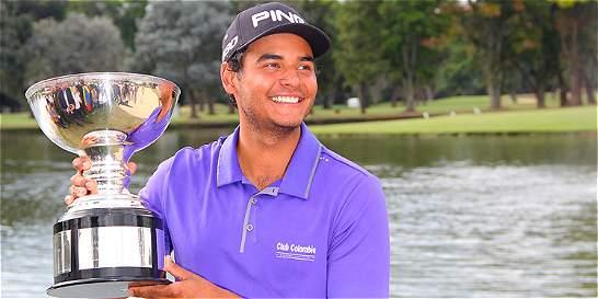 El día más feliz de J. Sebastián: ¡campeón del Colombia Championship!