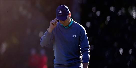 Se frenó el ascenso de Jordan Spieth en el Masters de Augusta