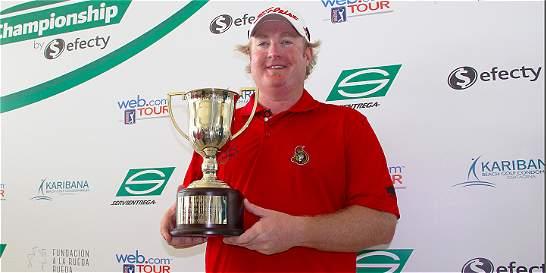 Brad Fritsch, único campeón del Servientrega Championship