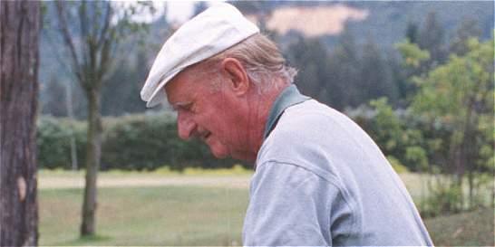 Murió Miguel Sala, una leyenda del golf colombiano