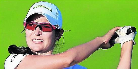 Paola Moreno logró el tercer triunfo de su carrera en el Symetra Tour