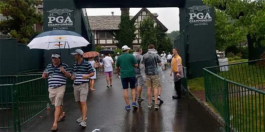 Se suspende la tercera jornada del Campeonato de la PGA por lluvia