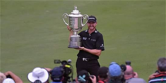 Jimmy Walker ganó el PGA de punta a punta